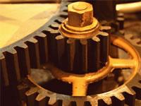 機械の緊急冷却ドライアイス